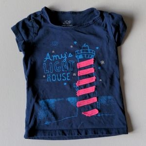 Amy's Light House T-Shirt * 3 Years Toddler